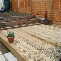 Decking and Sleepers 1