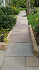 Indian Sandstone Patio 1