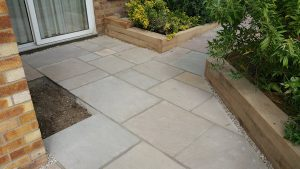 Indian Sandstone Patio 2