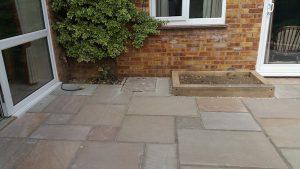 Indian sandstone patio 6