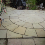 Indian Sandstone Circle Patio 2