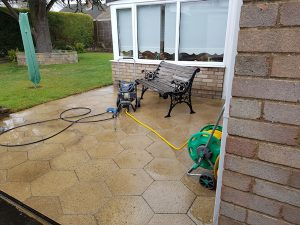 Power Washing After