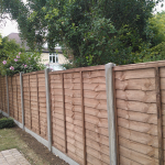 panel fencing concrete slotin 2