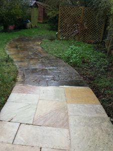 Garden Path Cleaning