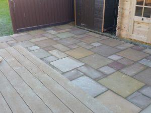Sandstone patio 3