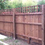 Close boarded fence & Trellis