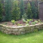 York stone retainer wall