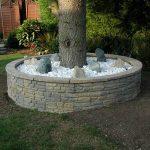 Circular Brick bed